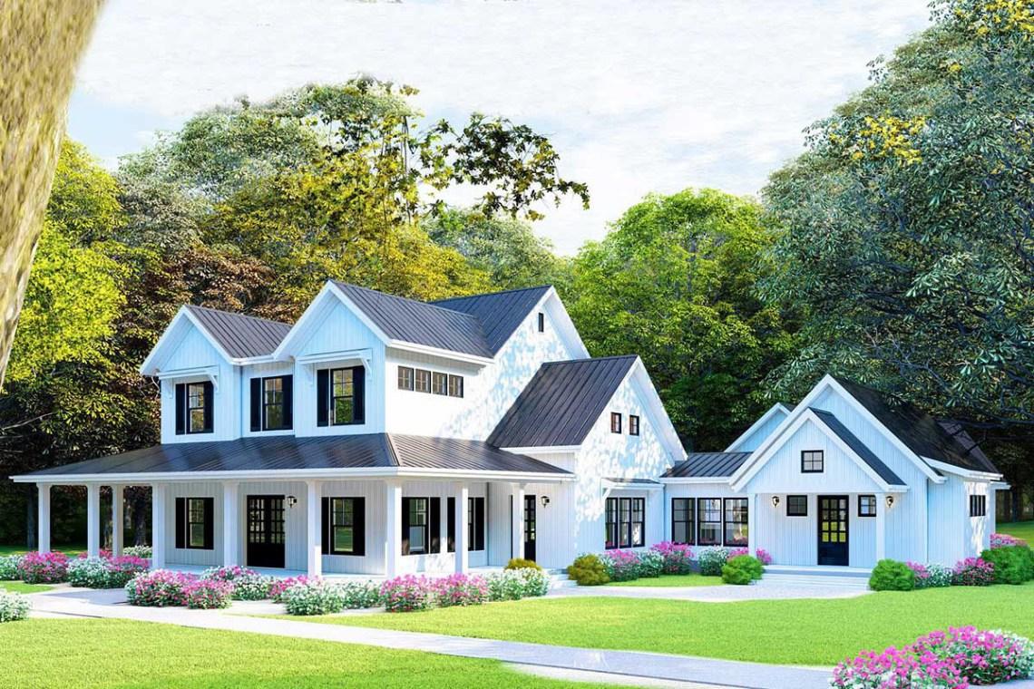 Farmhouse Plans - Architectural Designs