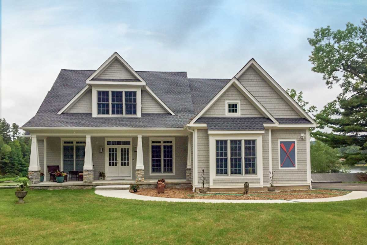 Informally Elegant 4 Bed Craftsman Style House Plan