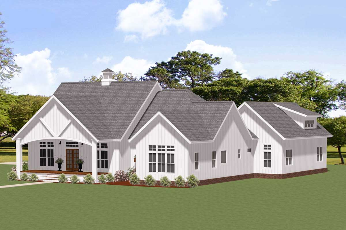 Exclusive 3 Bed Farmhouse Plan For Country Living At Its