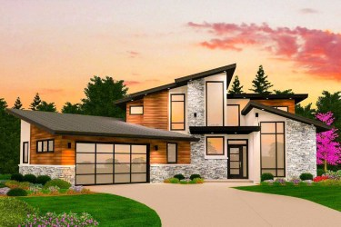 modern plans plan contemporary story designs three bed basement houses garage floor architectural homes luxury bedroom stories blueprints architecturaldesigns dynamic