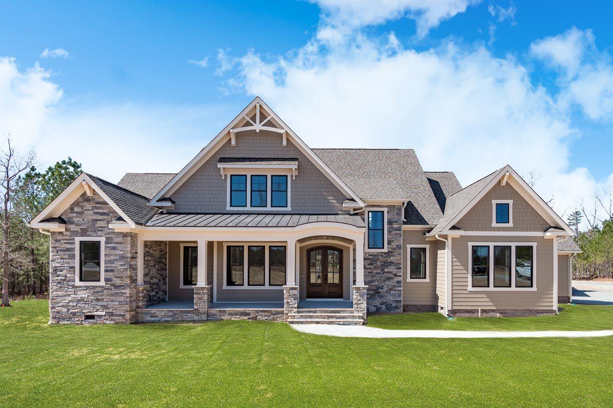 Craftsman House Plans Architectural Designs