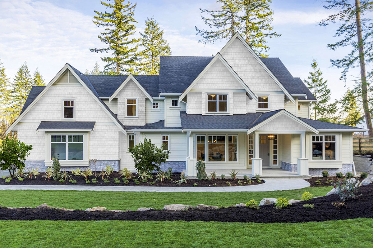 Exclusive 5 Bed Luxury Modern Farmhouse Plan With Private