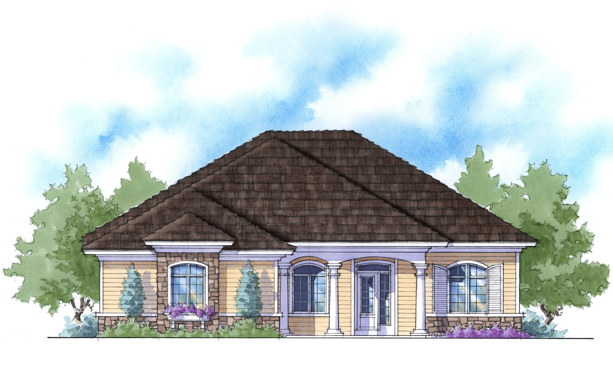 Super Energy Efficient House Plan - 33019zr