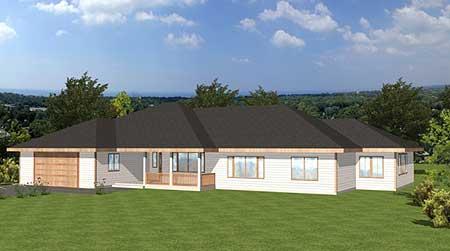 Sprawling Ranch Home 35467gh Architectural Designs