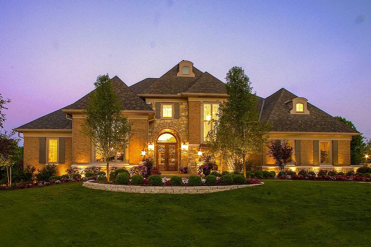 Luxury European House Plan 39201st Architectural