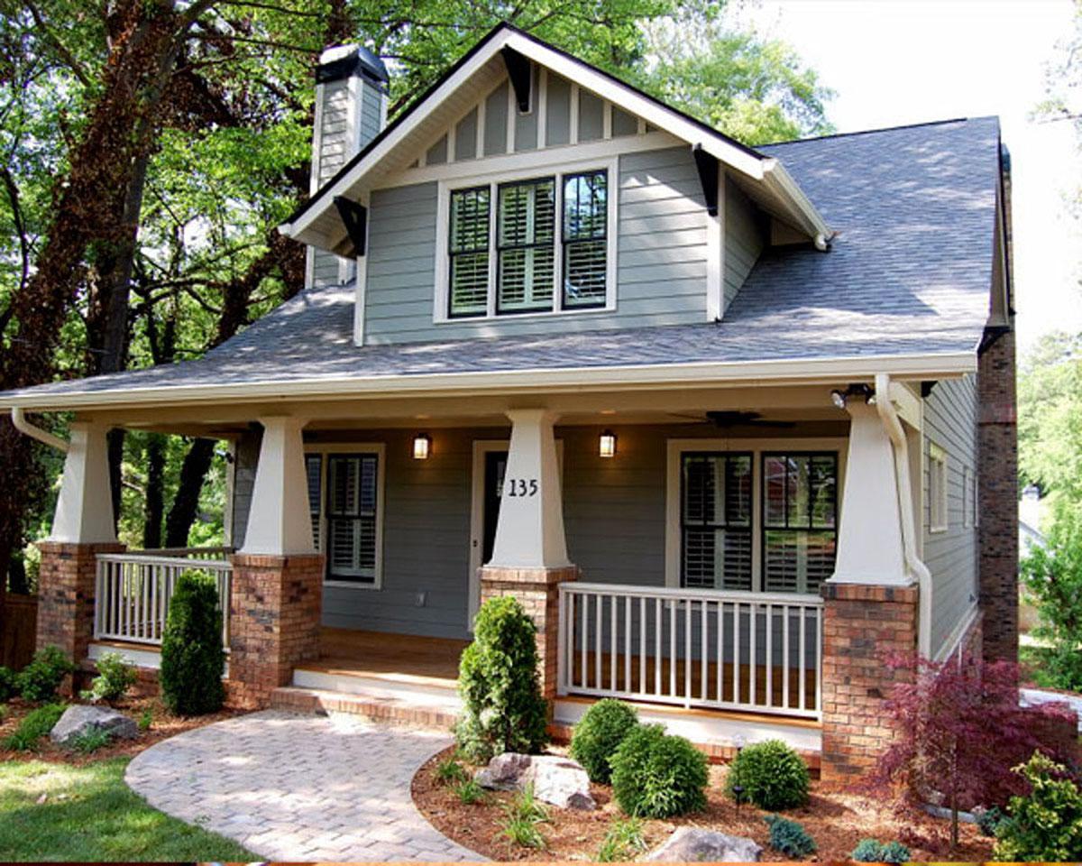 Classic Craftsman Cottage With Flex Room - 50102ph