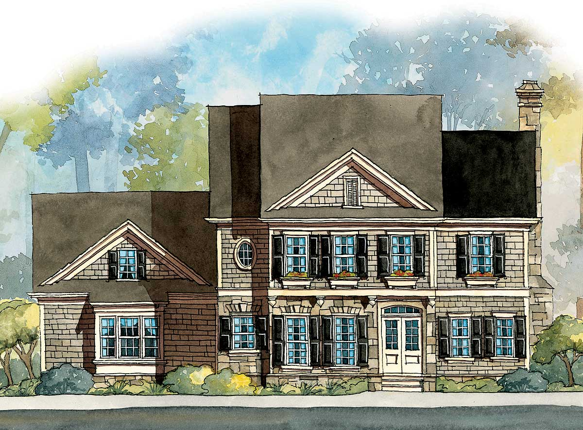 Family-friendly House Plan - 5642ad Architectural