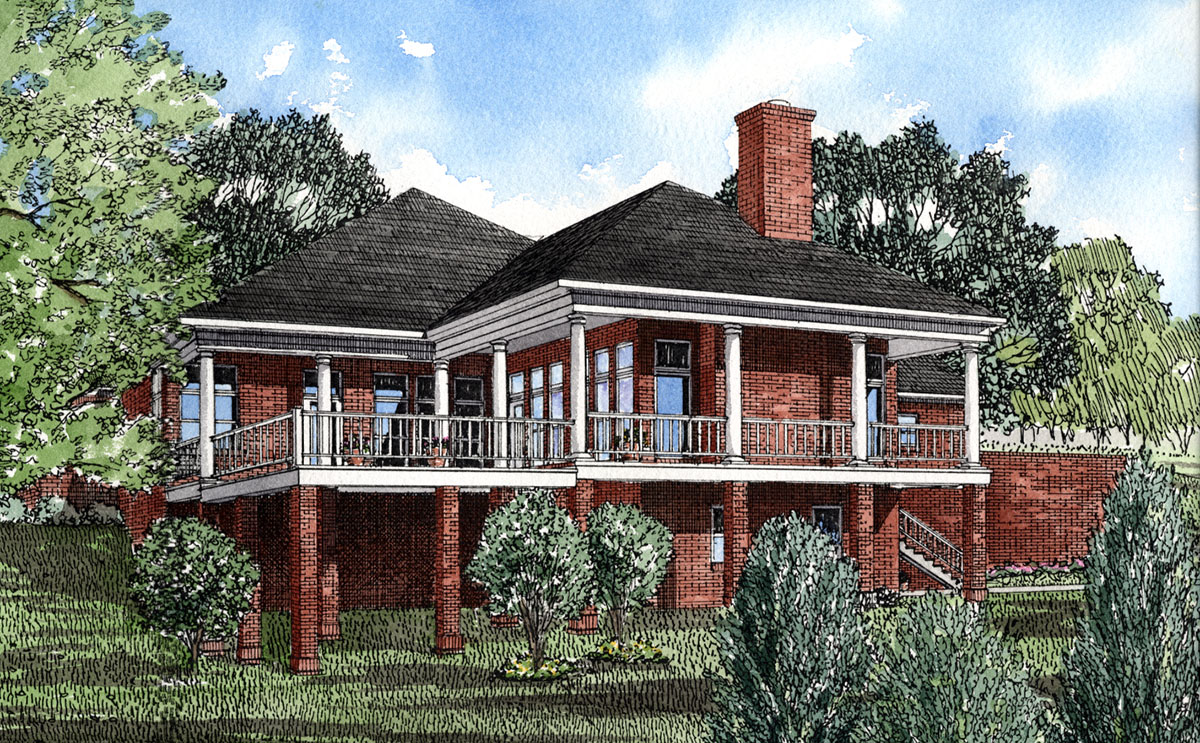 Lakeside Home Plan 59198nd Architectural Designs