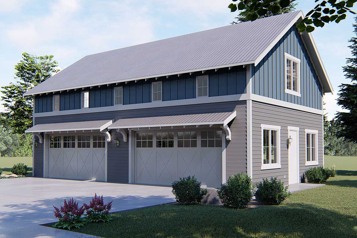4 Car Garage With Indoor Basketball Court - 62593dj