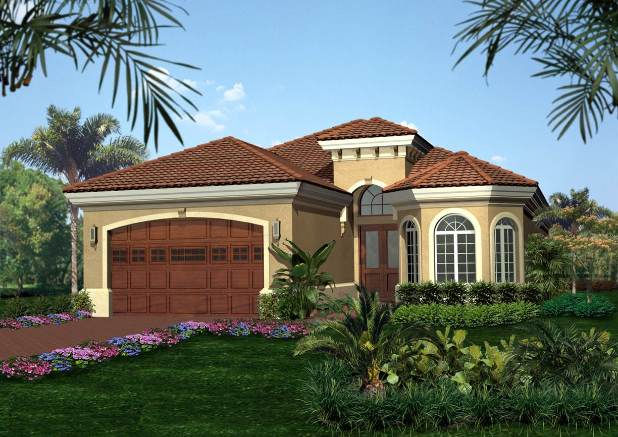 Tuscan Style House Plan - 66025WE | Architectural Designs ...