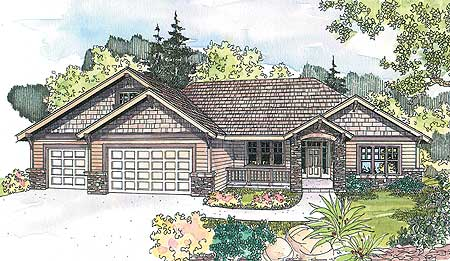 Ranch With A Dash Of Craftsman 72509da Architectural