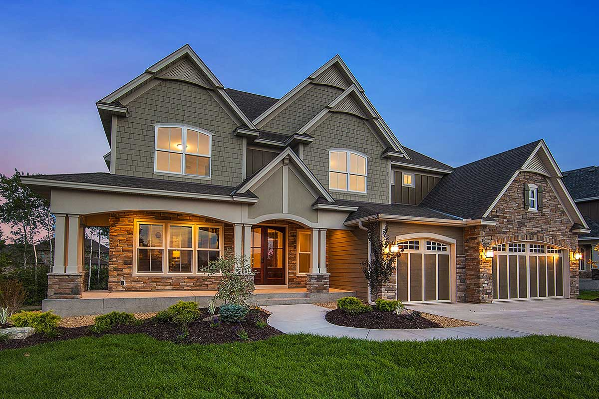 Exclusive Craftsman House Plan With Amazing Great Room