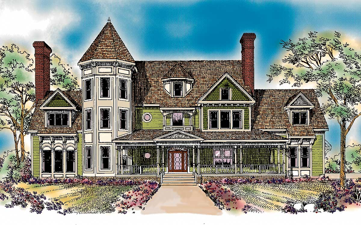 Queen Anne Inspiration 81207w Architectural Designs