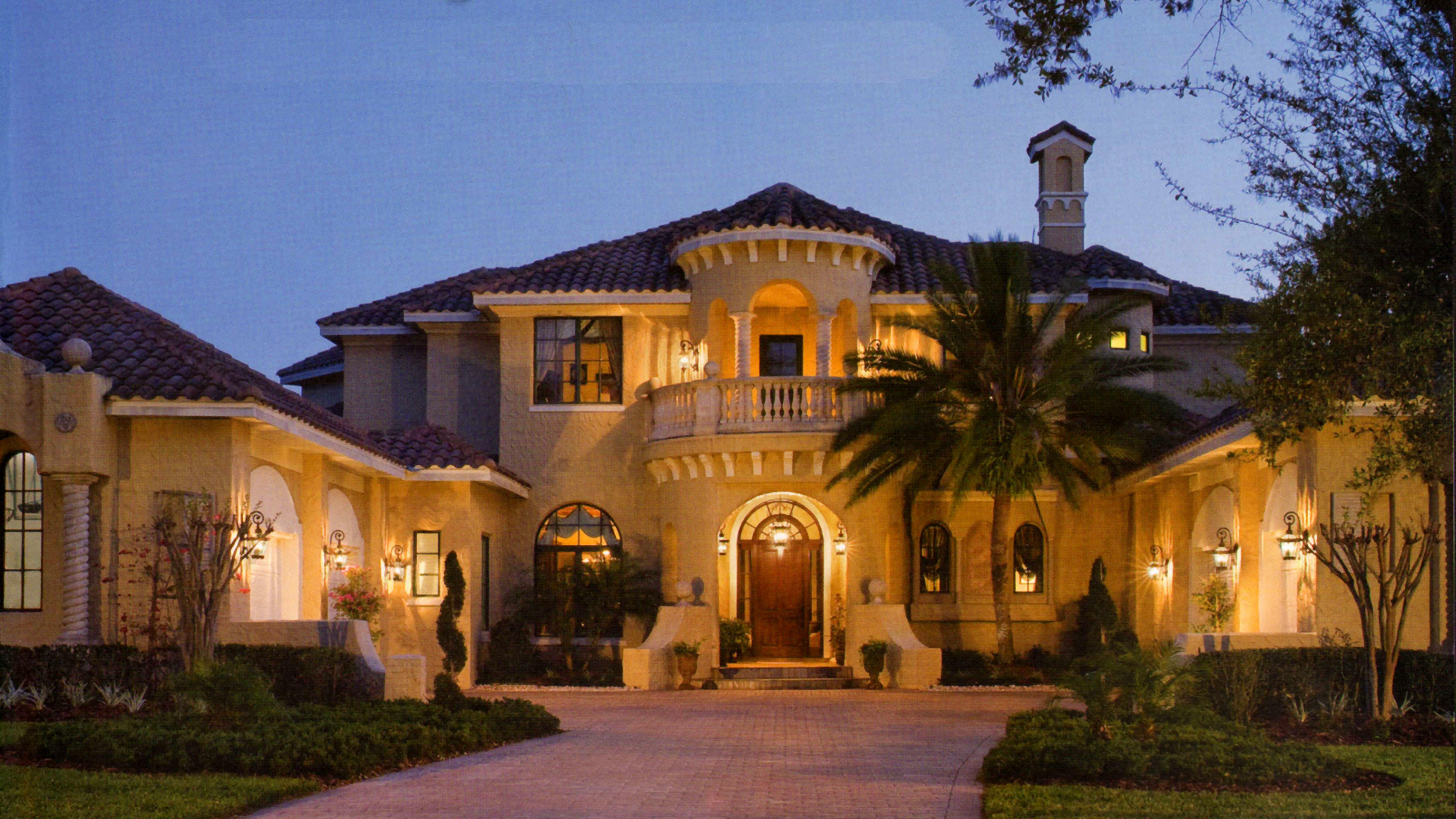 Mediterranean Luxury with Outdoor Living Room - 83401CL ...