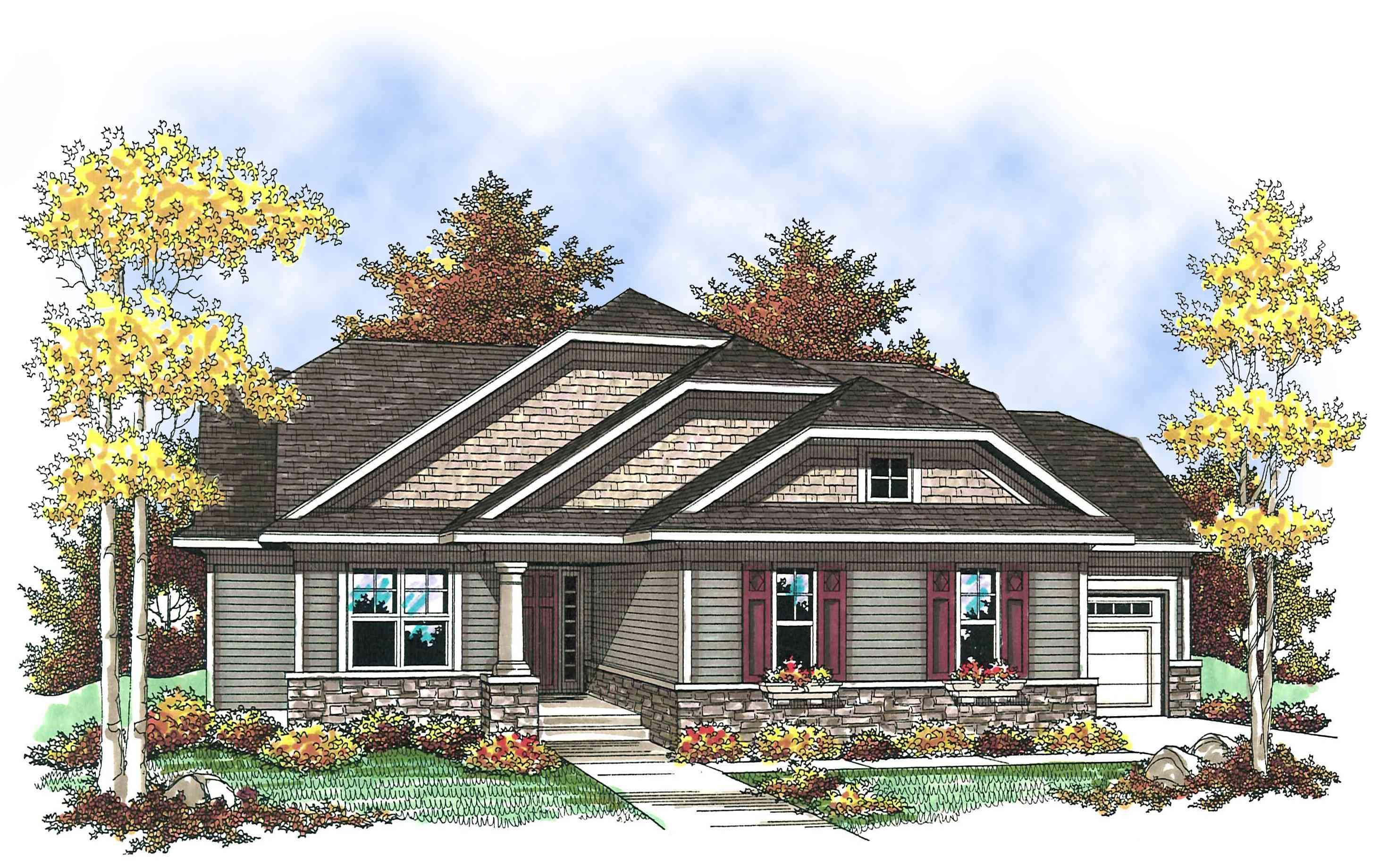 Craftsman With Open Floor Plan 89652ah Architectural