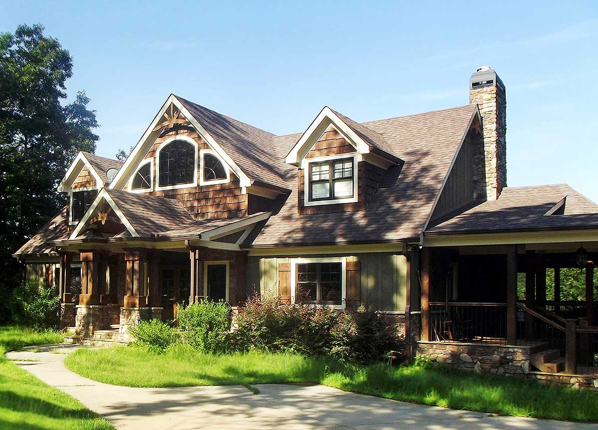Exclusive Mountain Craftsman - 92368mx Architectural
