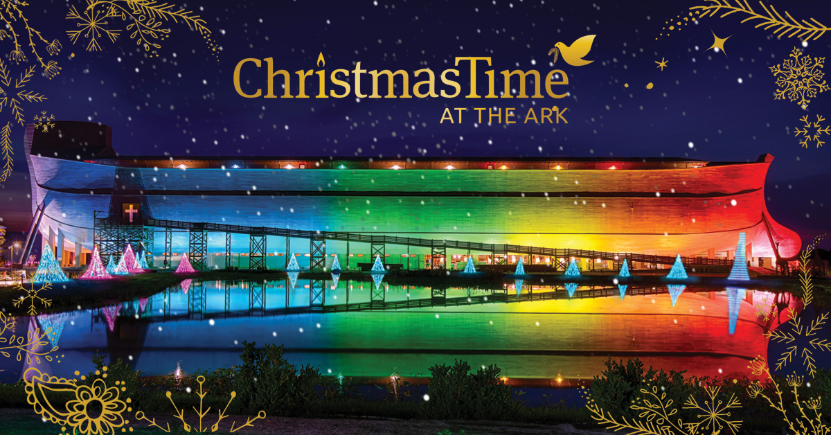 ChristmasTime At The Ark Ark Encounter