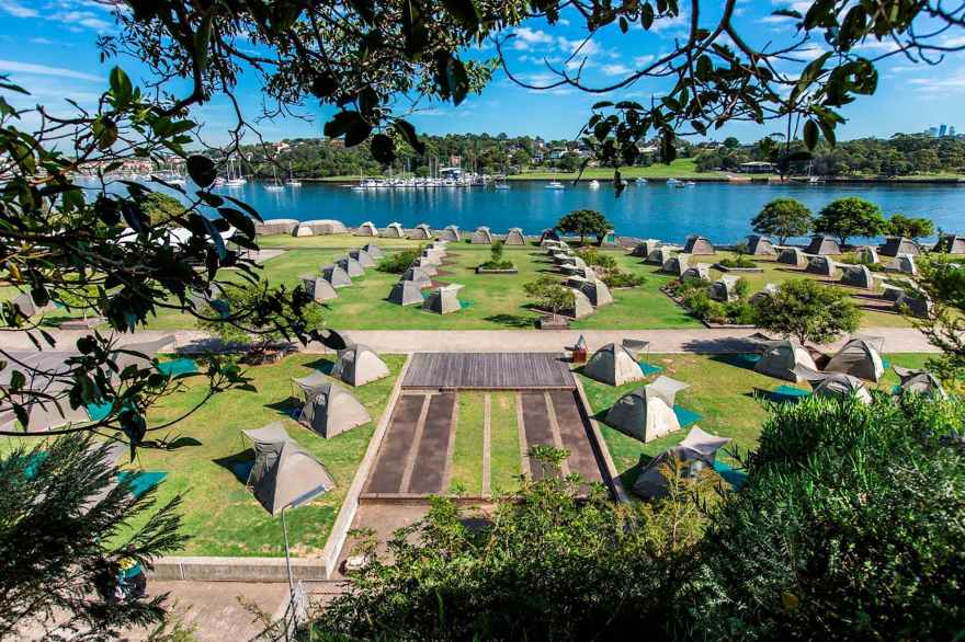 Image result for cockatoo island camping