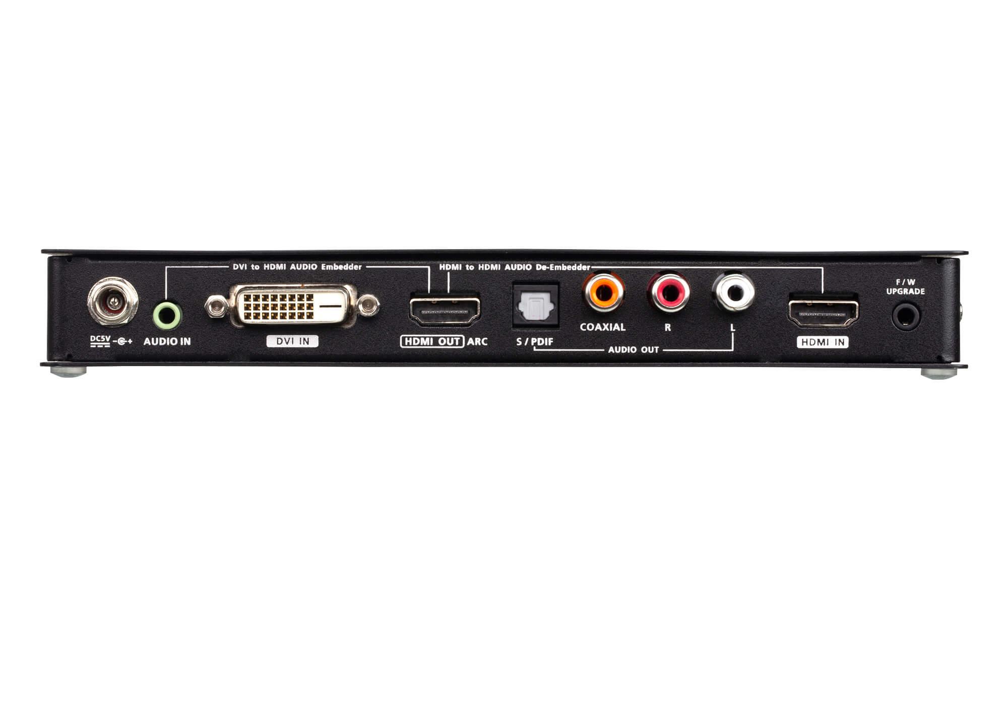 hight resolution of 4k hdmi dvi to hdmi converter with audio de embedder 2