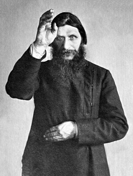 Rasputin, Maria's father, in