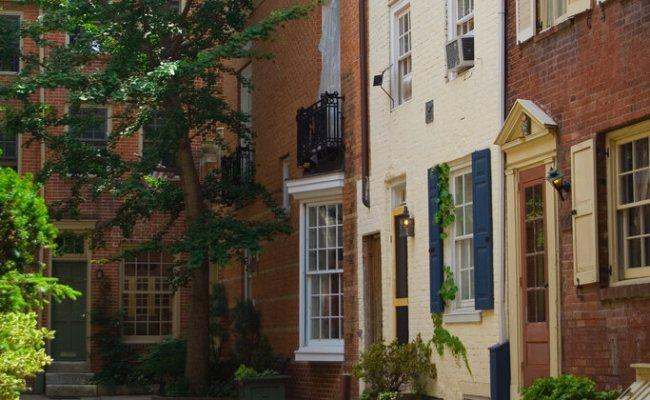 Philadelphia S Trinity Houses Are The Original Tiny Houses