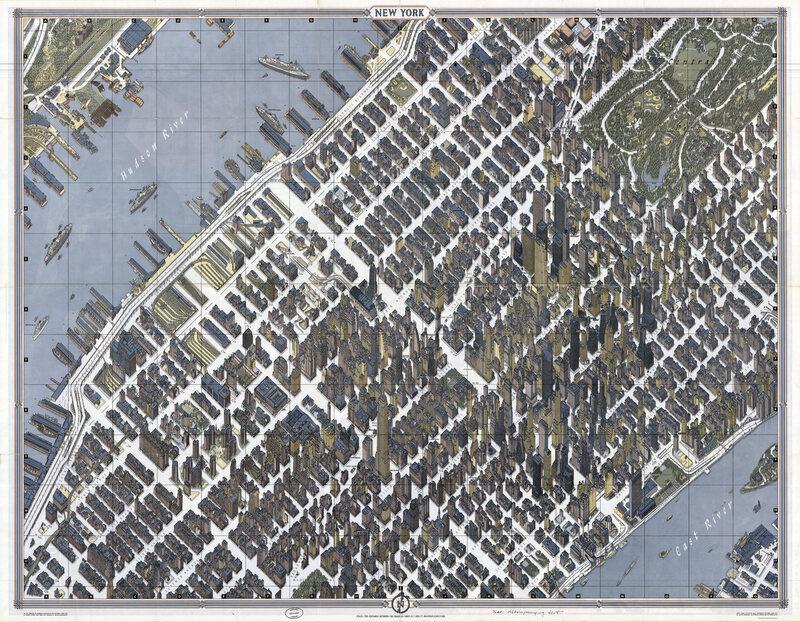 40.7145° N, 74.0071° W,Herman Bollmann, New York, 1962.