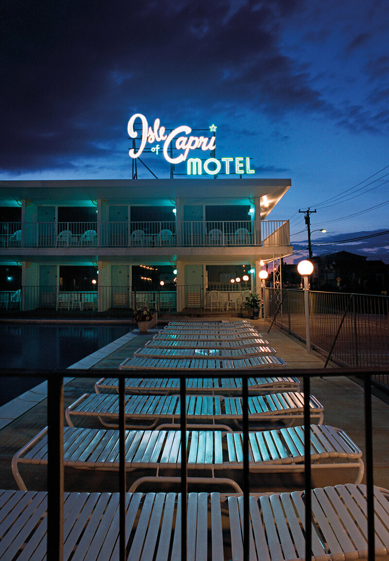 New Jersey S Deserted Mid Century Motels By Night Atlas