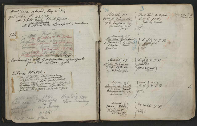 A page from Walt Whitman's commonplace book.