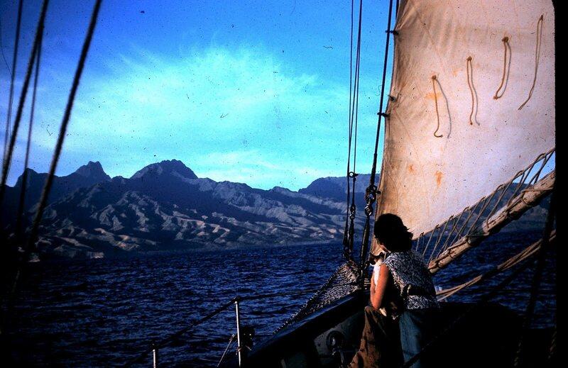 Tahiti, 1955.