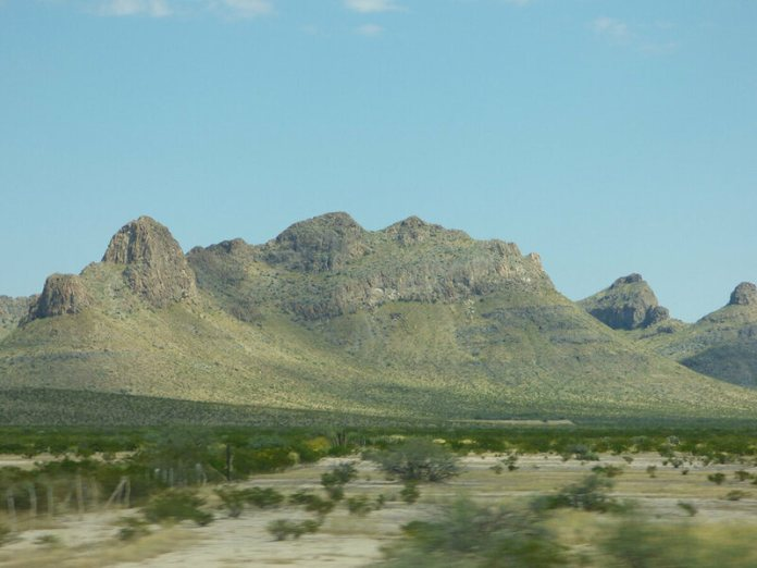 The Zone of Silence is near the Chihuahua desert.