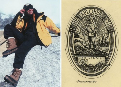 In 1981 Faanya Rose (here on Mt. Everest, 1999) was the first woman admitted to the Explorers Club.