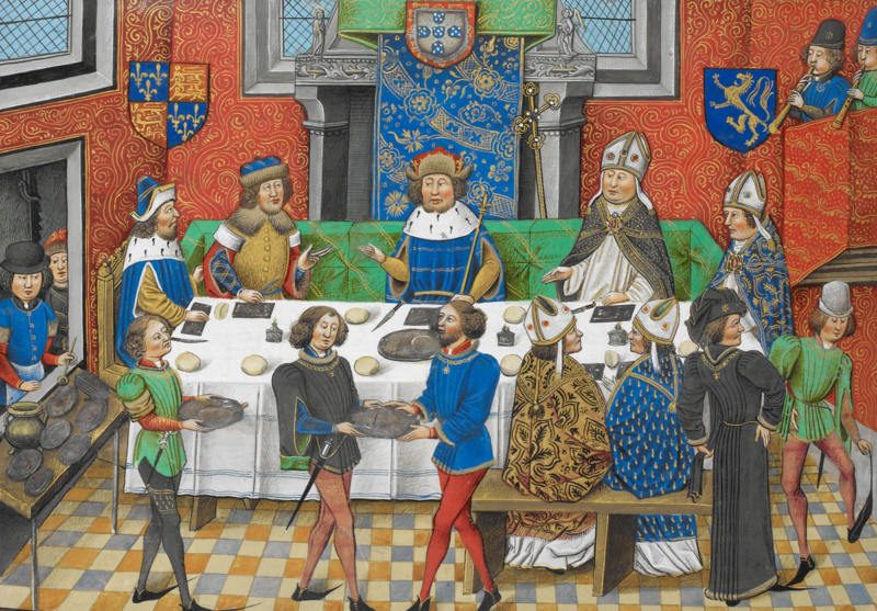 John of Gaunt visits the King of Portugal.