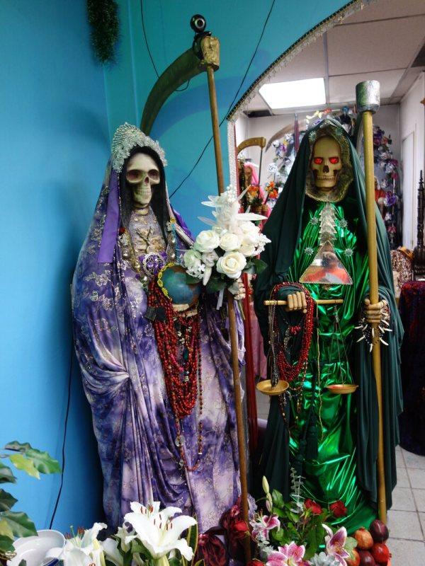 Society Adventures Visit Templo Santa Muerte