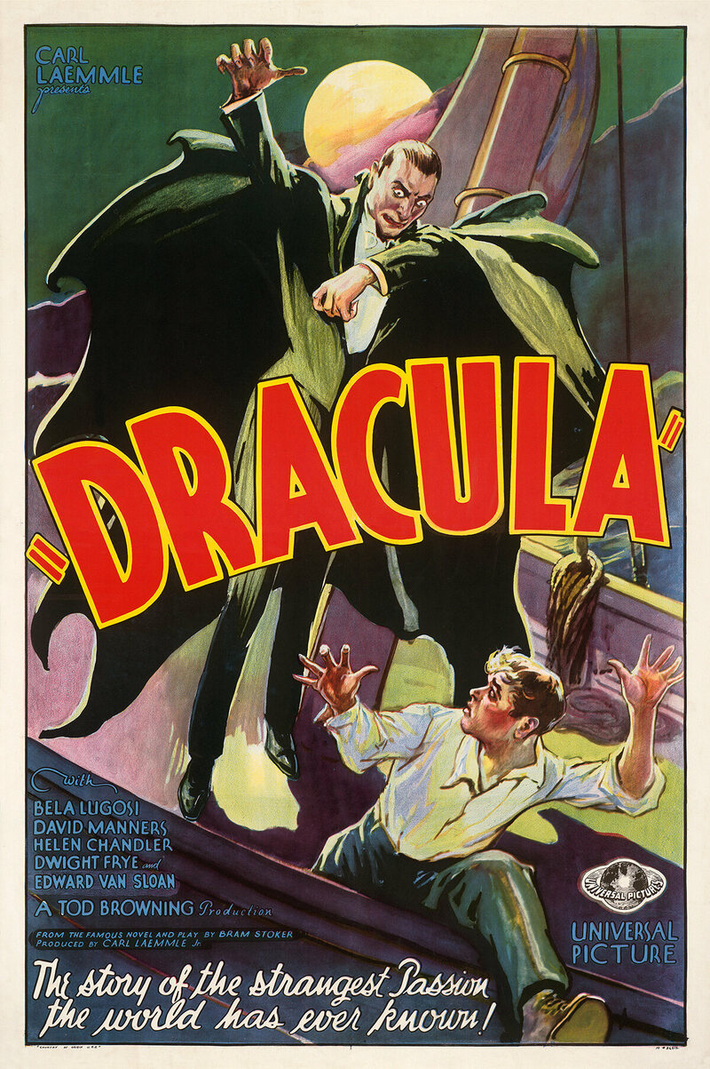 <em>Dracula</em>, 1931.