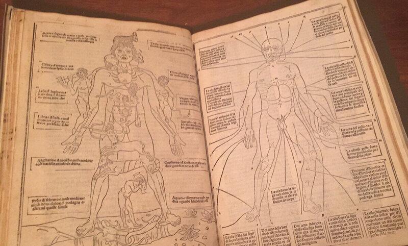 De l'édition 1522 de la <a> Fasciculus medicinae </ em>