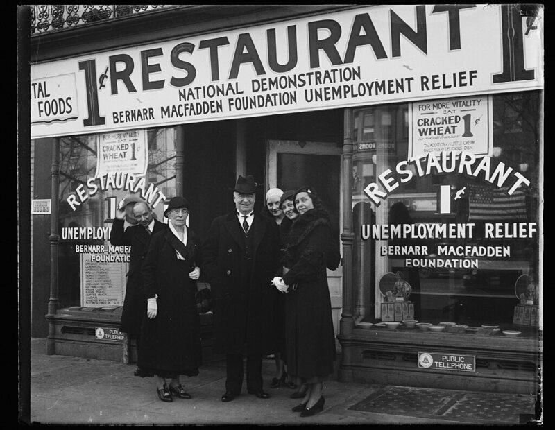 During the Great Depression Penny Restaurants Fed the Unemployed  Gastro Obscura