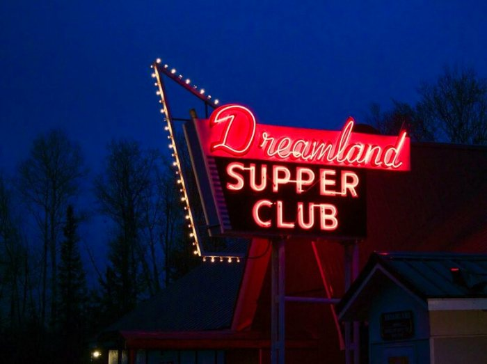 The Dreamland supper club is famed for its french-fried turkey breast.