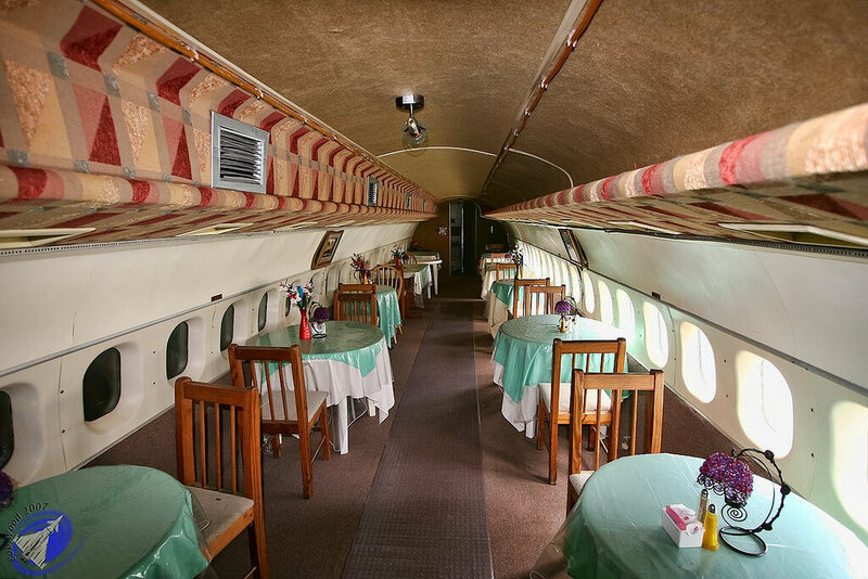most unusual chairs gesture chair review airplane food: five aircraft turned into restaurants - atlas obscura