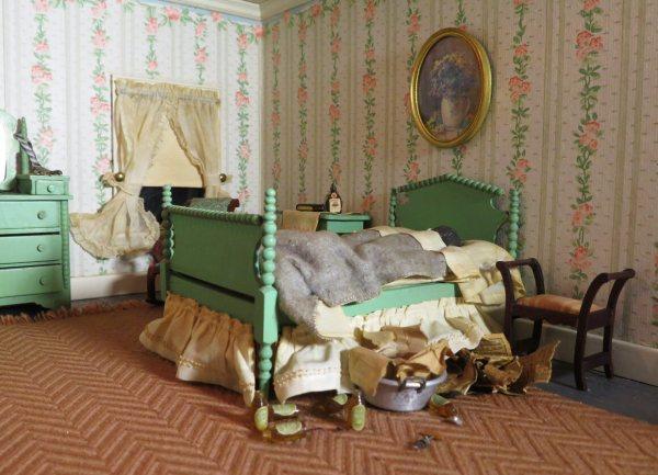 Grim Crime-scene Dollhouses Mother Of