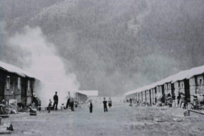 At its height in the early 1940s, the federal government forced about 2,644 Japanese Canadians to live in tar-papered shacks in the Tashme camp.