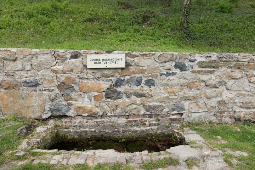 The water tasting event plays off Berkeley Springs' prime tourist attraction: George Washington's Bathtub.