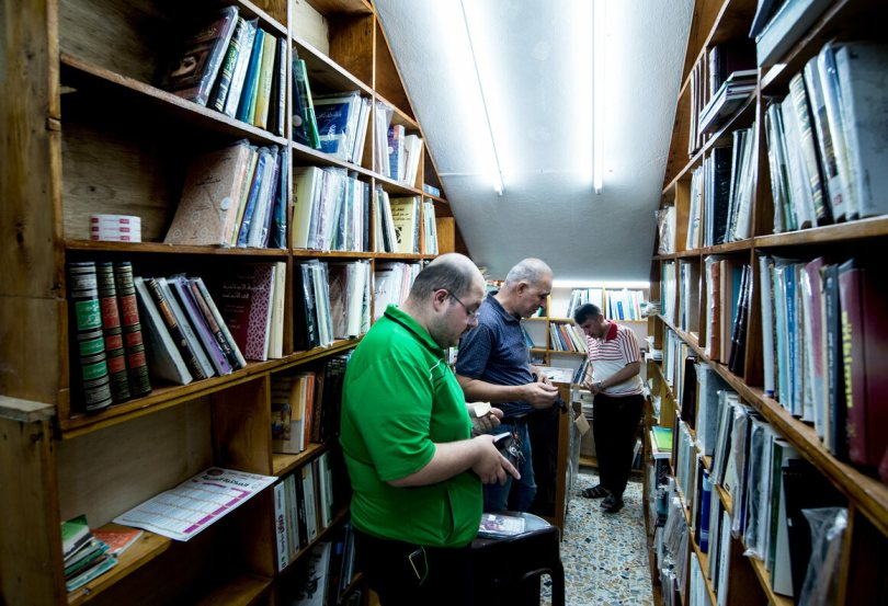 Under the rule of Saddam Hussein and again during ISIS occupation, many books were banned. Now, Daud Salim is free to stock books on any topic.