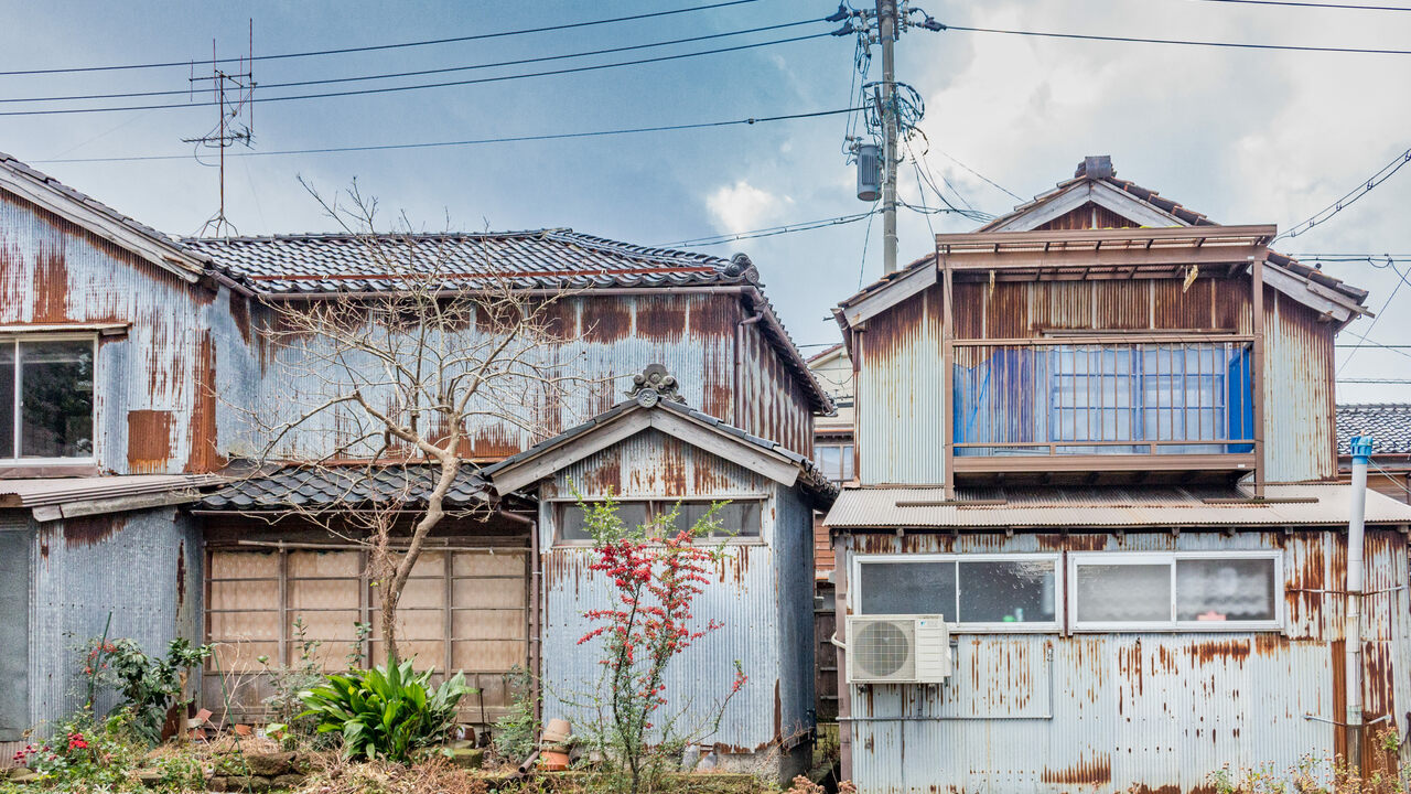 Ghost Houses Haunt A Rapidly Aging Japan Atlas Obscura
