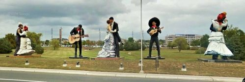 Image result for grounds for sculpture flamenco dancers