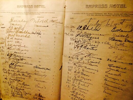The Empress Hotel Victoria British Columbia Atlas Obscura