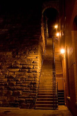 National Geographic Fall Wallpaper The Exorcist Stairs Washington D C Atlas Obscura