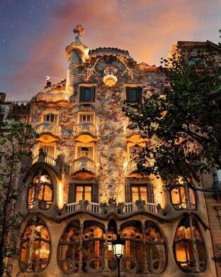 Casa Batll  Barcelona Spain  Atlas Obscura