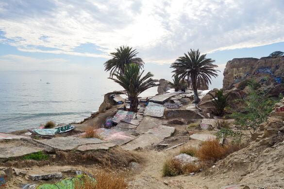 Angeles Los California City Sunken
