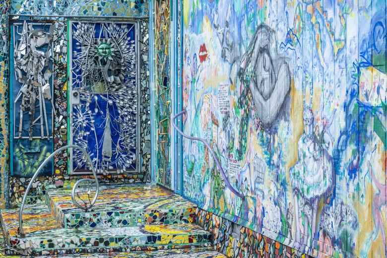 mosaic tile house los angeles