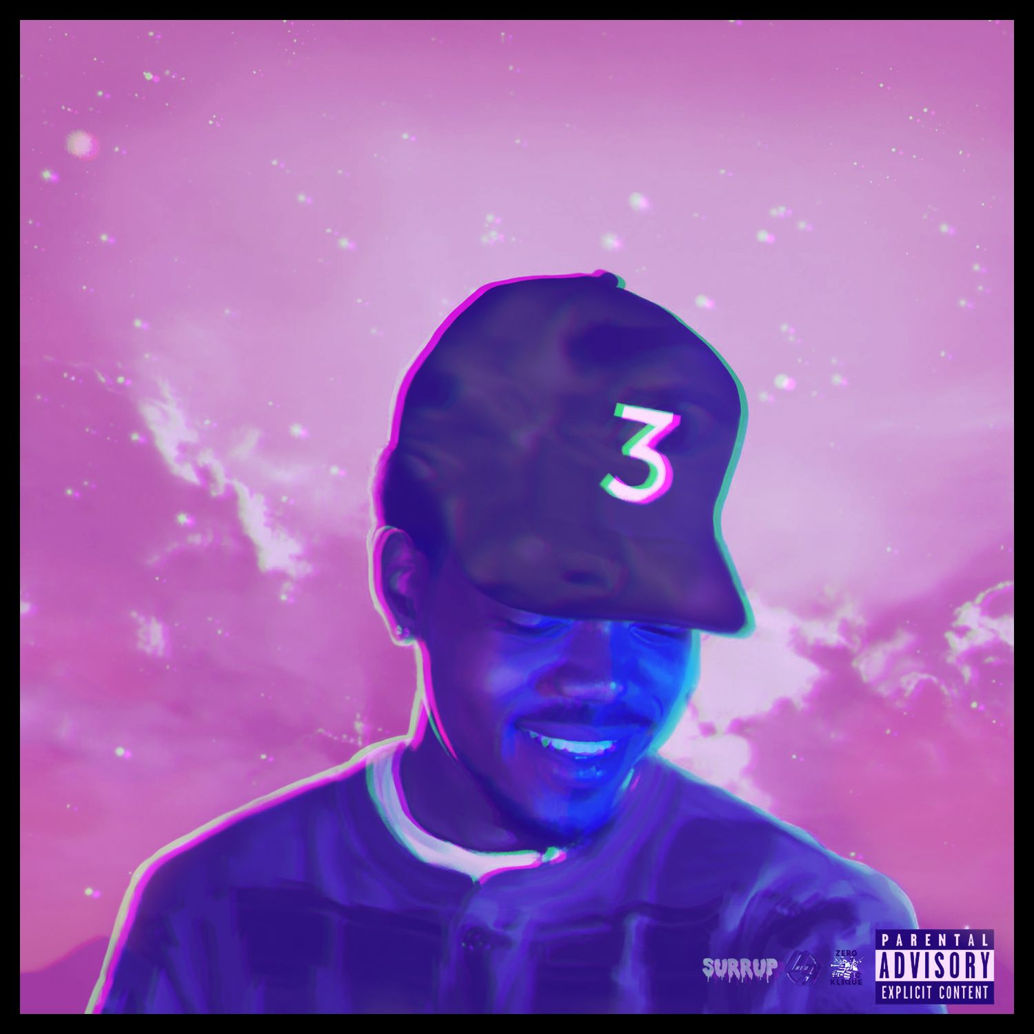 Coloring Book Chance The Rapper Cover Mission Impossible Fallout
